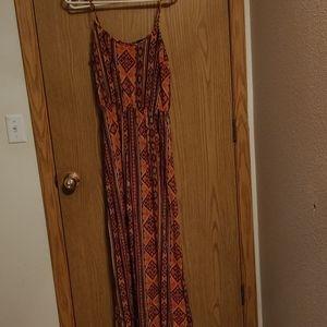 Forever 21 long dress size med